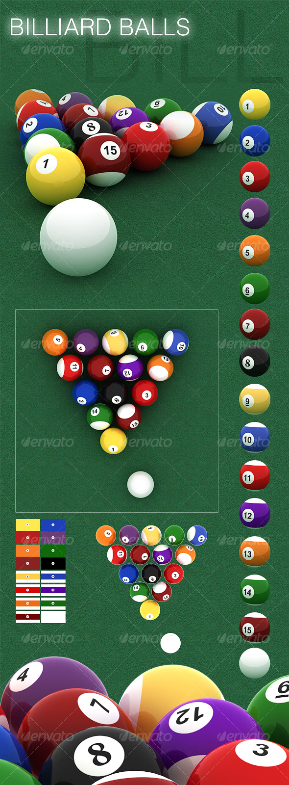 GraphicRiver Billiard Ball Set 59017