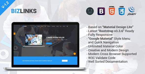 BizLinks | Multipurpose Business and Agency HTML Template