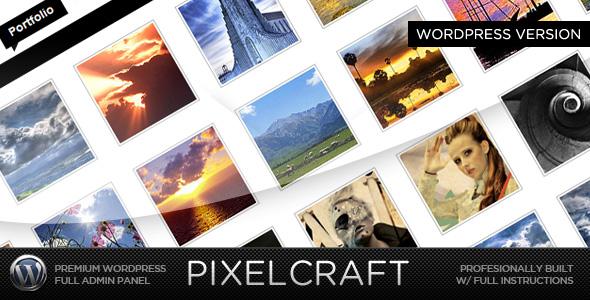 PixelCraft WP - A Premium Portfolio Theme