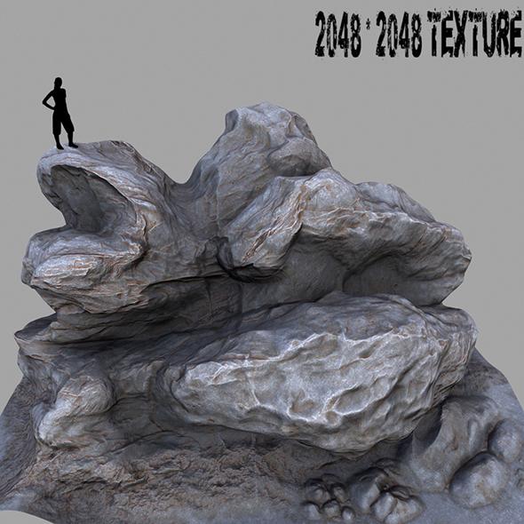 Mount_Rock 2 - 3DOcean Item for Sale