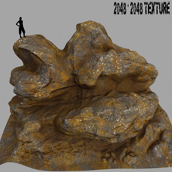 Mount_Rock 6 - 3DOcean Item for Sale