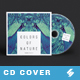 Colors Of Nature - Creative CD Cover Artwork Template