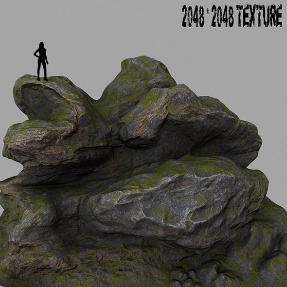 Mount_Rock 9 - 3DOcean Item for Sale