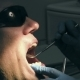 Man Gets Dentist Medical Mouth Teeth Treatment