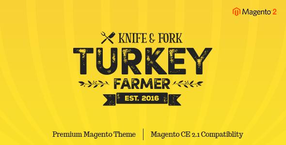 Turkey - Thanksgiving Magento 2 Theme