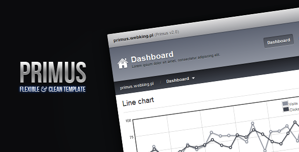 Primus - Flexible & Clean Admin Template