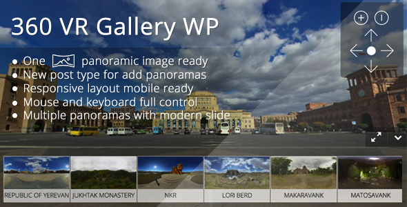 Download 360 VR Gallery WP nulled download