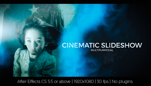 Download Cinematic Slideshow nulled download