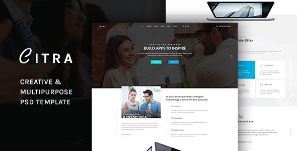 CITRA -  Business PSD Template