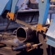 Work On The Production Of Heating Equipment Factory
