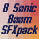 8 Sonic Boom Sound Pack