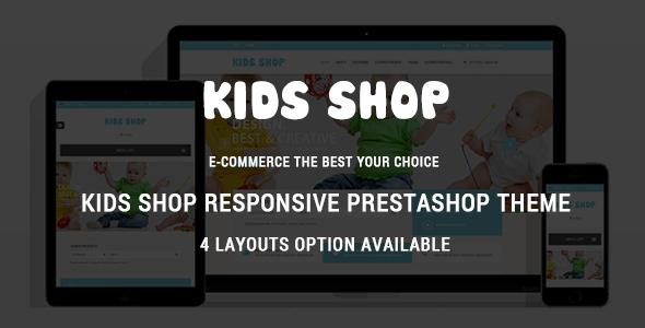Kidshop - Responsive Prestashop Theme