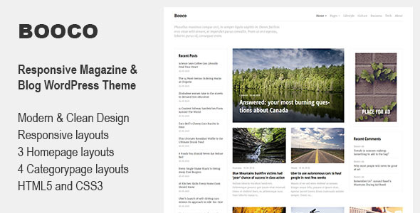 Download Booco - Responsive Magazine & Blog WordPress Theme nulled download