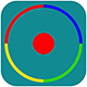 Colored Circle - HTML5 Game