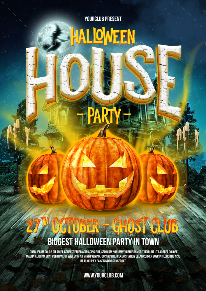 Halloween Party Flyer by MONOGRPH – Halloween Party Flyer