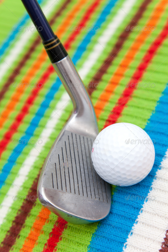 golf equipment - Stock Photo - Images