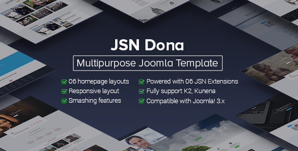 Image of JSN Dona - Multipurpose Joomla Template