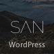 San - Responsive App Landing WordPress Theme