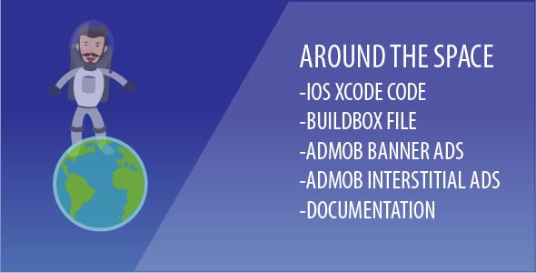 Around The Space - Xcode Game Template With Admob Ads and Buildbox File - CodeCanyon Item for Sale
