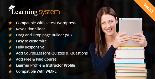 LMS WordPress Theme| Education | Elearning | Online Course | LMS Theme