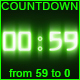 Countdown from 59 to 0 version 13