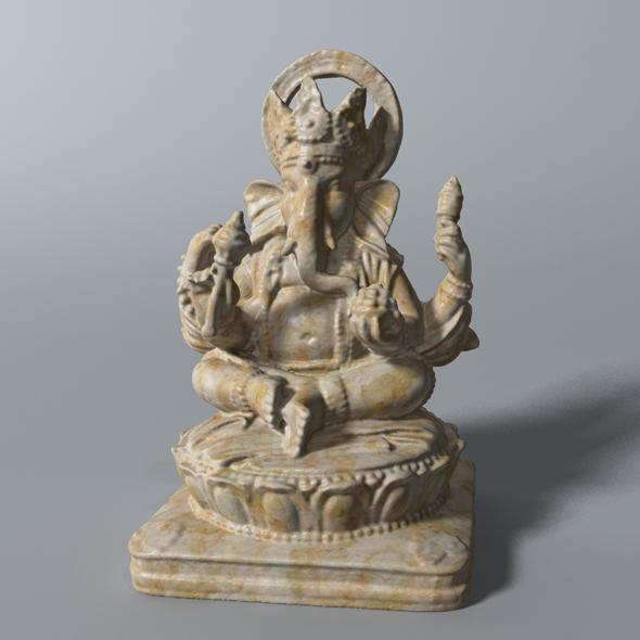 Ganesha Statue  - 3DOcean Item for Sale