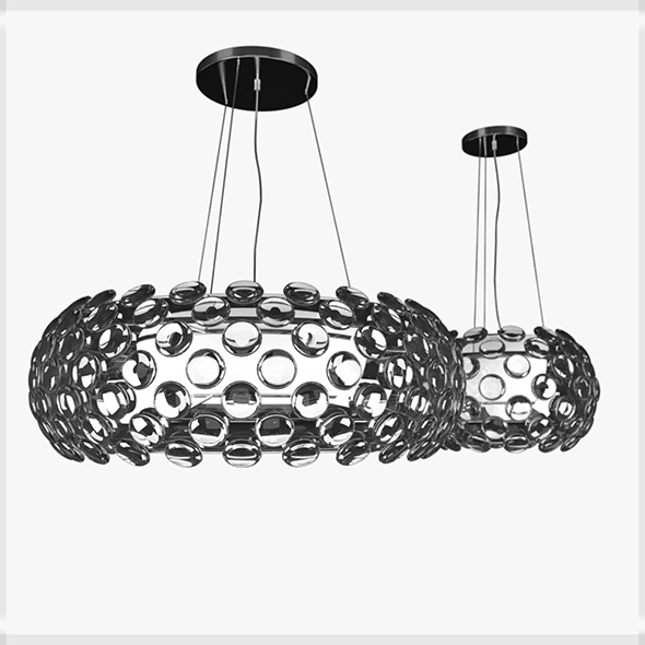 Crystal Ball chandelier by Maishang - 3DOcean Item for Sale