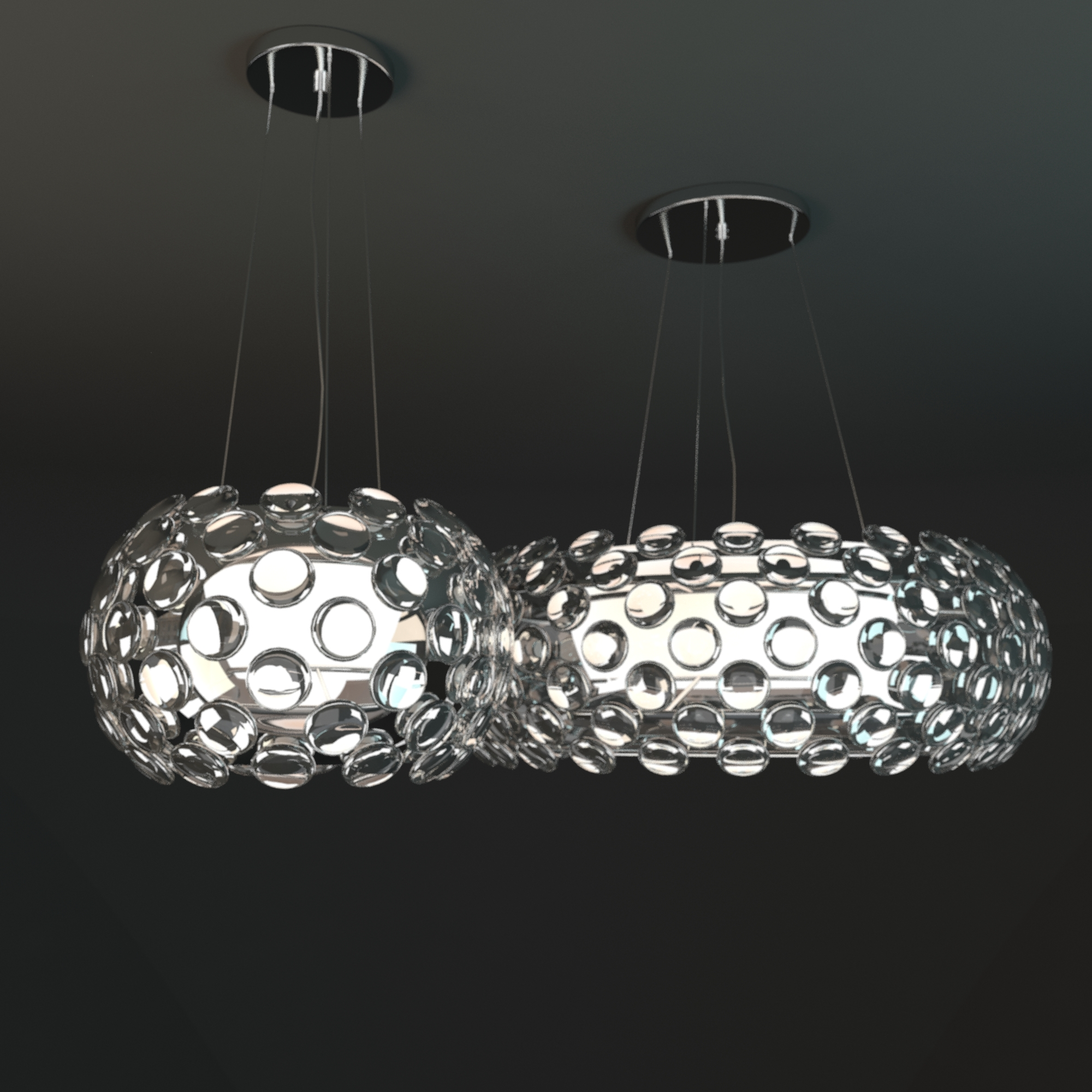 Crystal Ball chandelier by Maishang by obshansky – Ball Chandelier