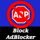 AdBlocker Blocker Red