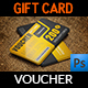 Gift  Voucher Card Vol.23 Template