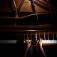 Melancholic piano waltz