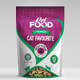 Pet Food Bag Packaging Design Template