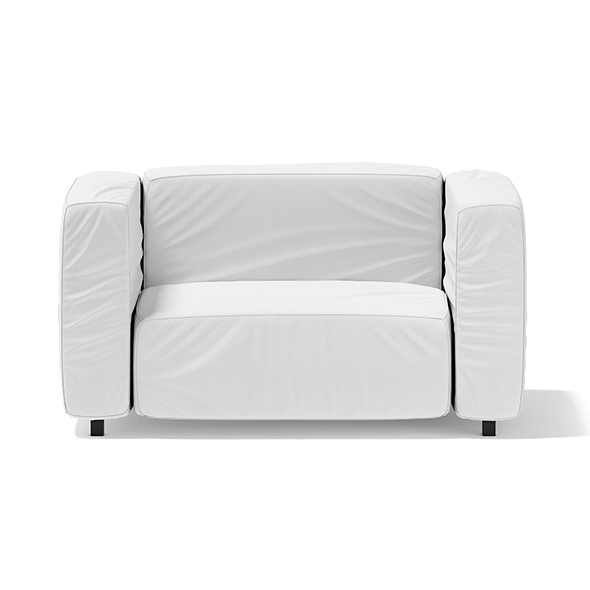 White Armchair - 3DOcean Item for Sale