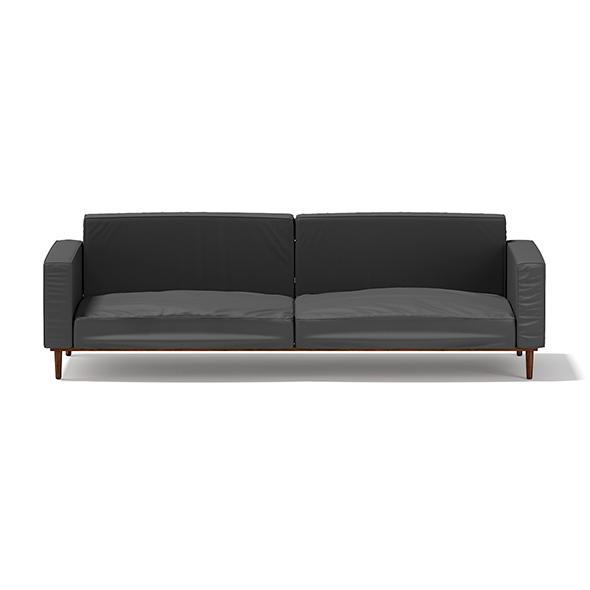 Dark Grey Sofa - 3DOcean Item for Sale