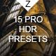 15 HDR Pro SE Presets