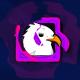 Ragged Cartoon Logo