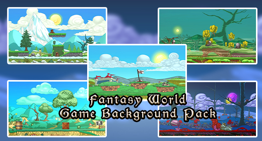 Fantasy World Game Background Pack