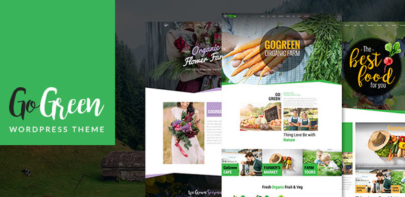 Download GoGreen - Business WordPress Theme nulled download