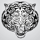 Tiger Head Tattoo - GraphicRiver Item for Sale