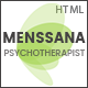 Menssana - Psychologist and Psychotherapist HTML Template