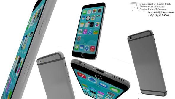 IPhone 6 Plus - 3DOcean Item for Sale