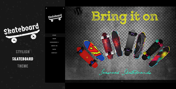 Image of Skate board Sports - Sports Shopify Theme