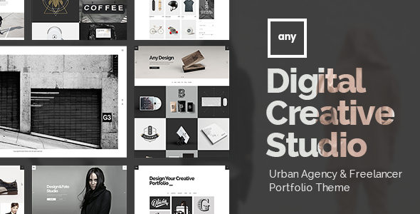 Any – Urban Agency & Freelancer Portfolio Theme (Portfolio) Download