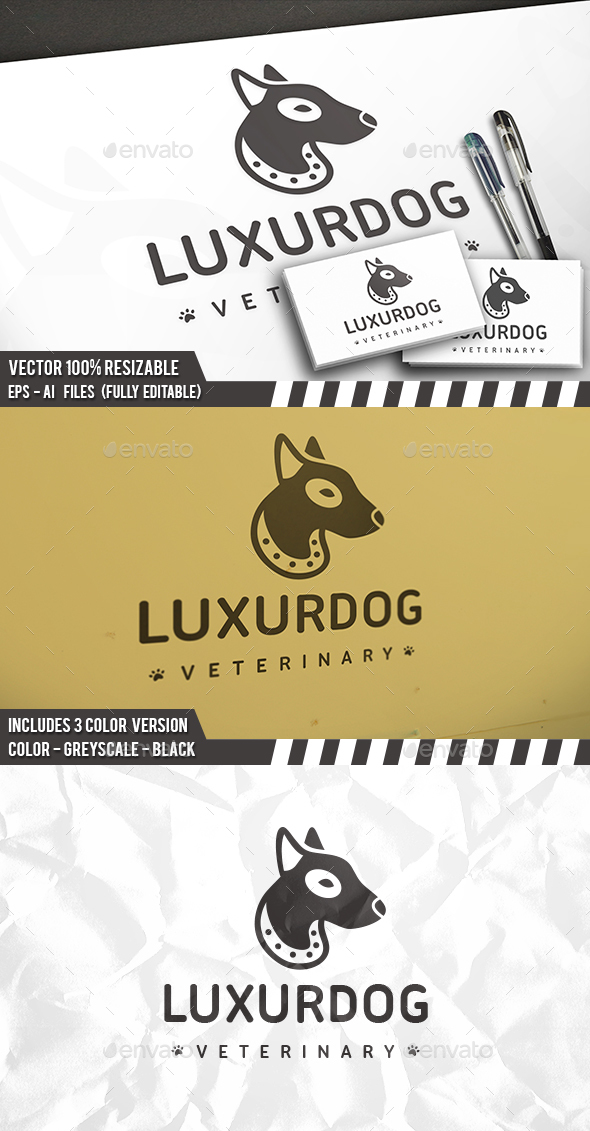 Luxury Dog Logo
