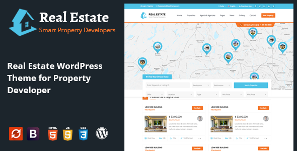 Actual Estate IDX House Booking Actual Estate and Rental WordPress Theme (Actual Estate)