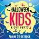 Halloween Kids Party Flyer