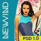 NewWind - eCommerce PSD Template