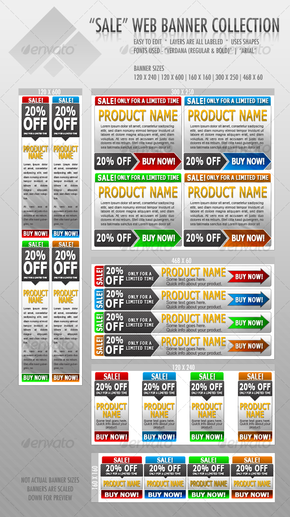 GraphicRiver Web Banners 68619