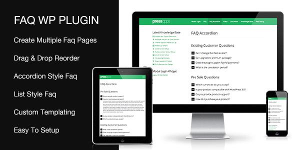 Accordion FAQ WordPress Plugin