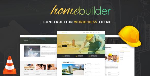 Download HomeBuilder - Building & Construction WordPress Theme nulled download